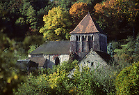 Europe/France/Limousin/23/Creuse/Moutier-d'Ahun : Abbaye du Moutier d'Ahun