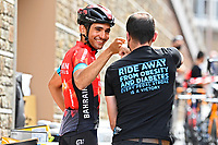 July 12th 2021, Andorre-la-Vielle, France; BAHRAIN rider during rest day 2 of the 108th edition of the 2021 Tour de France cycling race on July 12