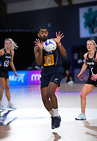 NZ Men's Deepak Patu in action during the Cadbury Netball Series final between NZ Silver Ferns and NZ Men at the Fly Palmy Arena in Palmerston North, New Zealand on Saturday, 24 October 2020. Photo: Dave Lintott / lintottphoto.co.nz