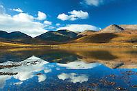 Beinn Dearg Mheadhonach from Loch Ainort, Isle of Skye, Skye & Lochalsh, Highland