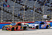 #19: Martin Truex Jr., Joe Gibbs Racing, Toyota Camry Bass Pro Shops, #47: Ryan Preece, JTG Daugherty Racing, Chevrolet Camaro Kroger