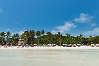 Panorama Of Empty Bai Sao Beach View From The Sea, Phu Quoc, Vietnam