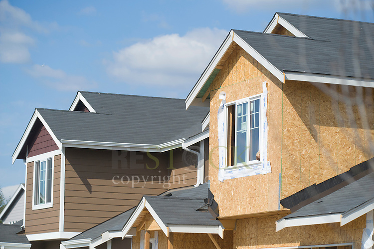 Construction of Home in Neighborhood