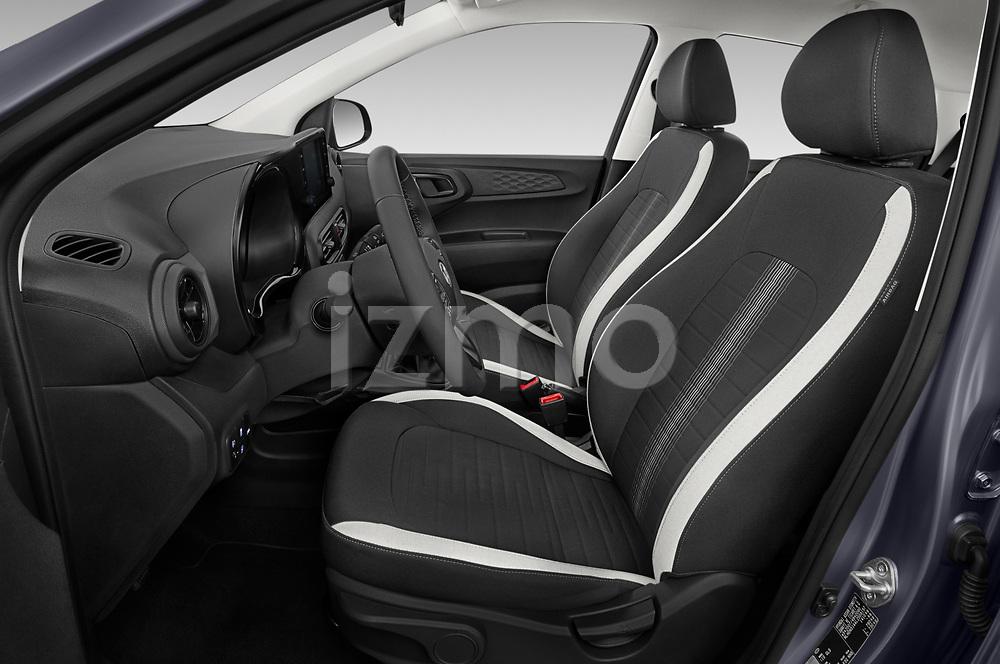 Front seat view of 2020 Hyundai i10 Twist 5 Door Hatchback Front Seat  car photos