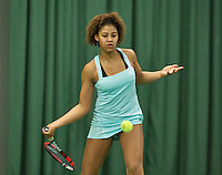 Rotterdam, The Netherlands, March 11, 2016,  TV Victoria, , NOJK 12/16 years, Noa Liauw-A-Fong<br /> Photo: Tennisimages/Henk Koster