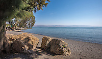 Fine Art Landscape Photograph of the sea of Galilee in Haifa, Israel.