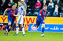 CALEY'S JONNY HAYES CELEBRATES AFTER HE SCORES INVERNESS' SECOND GOAL.