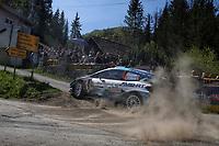 24th April 2021; Zagreb, Croatia; WRC Rally of Croatia, stages 9-16; Gus Greensmith - Ford Fiesta WRC WRC