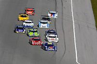 #10 SunTrust Pontiac/Riley leads the field into the first turn.