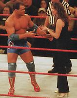 Kurt Angle Stephanie McMahon 2000                                                            Photo By John Barrett/PHOTOlink