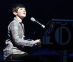 Greyson Chance opens for Miranda Cosgrove on her Dancing Crazy Tour Feb. 2011. .Copyright EML/Rockinexposures.com.