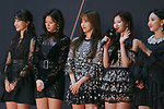 TWICE, Dec 12, 2018 : South Korean girl group TWICE attends the red carpet ceremony of 2018 Mnet Asian Music Awards (MAMA) in Saitama, Japan on December 12, 2018. (Photo by AFLO)