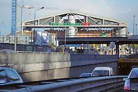 - entry in Milan from the North highways, Portello fair....- ingresso a Milano dalle autostrade Nord, fiera del Portello