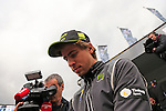 Peter Sagan (SVK) Tinkoff-Saxo signs autographs at the Team Presentations in Compiegne before the 2015 Paris-Roubaix cycle race held over the cobbled roads of Northern France. 11th April 2015.<br /> Photo: Eoin Clarke www.newsfile.ie