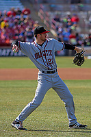 Quad Cities River Bandits outfielder Stephen Wrenn (22) during a Midwest League game against the Wisconsin Timber Rattlers on April 8, 2017 at Fox Cities Stadium in Appleton, Wisconsin.  Wisconsin defeated Quad Cities 3-2. (Brad Krause/Four Seam Images)