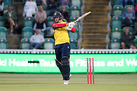 Simon Harmer hits 4 runs for Essex during Somerset vs Essex Eagles, Vitality Blast T20 Cricket at The Cooper Associates County Ground on 9th June 2021