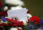 Floral tributes from Rangers FC