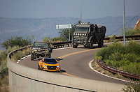 "On location of the movie "" Transformers 5 The Last Knight "" , E7, being filmed near Theodore Roosevelt Dam in Arizona. The film has just started filming and further filming will take place in locations like Detroit, Ireland, Great Britan and Iceland. <br />