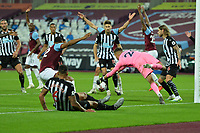 West Ham appeal for a penalty during West Ham United vs Newcastle United, Premier League Football at The London Stadium on 12th September 2020