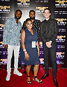 MIAMI GARDENS, FL - JUNE 06: Abdul Abdi, Dominique Simpson, Selomon Goitem and Gerald Earl 'G-Eazy' Gillum  attend Floyd Mayweather vs Logan Paul pre-fight VIP party at Hardrock stadium North Sildeline Club on June 6, 2021 in Miami Gardens, Florida.  ( Photo by Johnny Louis / jlnphotography.com )