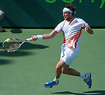Juan Monaco (ARG) wins  at the Sony Ericsson Open in Key Biscayne, Florida on March 29, 2012