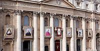 20141123 VATICANO: PAPA FRANCESCO CELEBRA LA CANONIZZAZIONE DI SEI BEATI