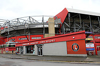 General view of the Charlton Athletic Superstore ahead of kick-off during Charlton Athletic vs AFC Wimbledon, Sky Bet EFL League 1 Football at The Valley on 12th December 2020