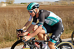 Pascal Ackermann (GER) Bora-Hansgrohe in the peloton during Stage 9 of the Vuelta Espana 2020 running 157.7km from B.M. Cid Campeador. Castrillo del Val to Aguilar de Campo, Spain. 29th October 2020.    <br /> Picture: Luis Angel Gomez/PhotoSportGomez | Cyclefile<br /> <br /> All photos usage must carry mandatory copyright credit (© Cyclefile | Luis Angel Gomez/PhotoSportGomez)