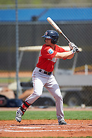 Boston Red Sox Andrew Benintendi (39) during a minor league Spring Training game against the Tampa Bay Rays on March 23, 2016 at Charlotte Sports Park in Port Charlotte, Florida.  (Mike Janes/Four Seam Images)