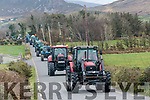 At The Red Fox Tractor Run on Sunday it was all about the charities, not a politician in sight and no sex discrimination either as you can see in the lead tractor here
