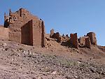 Kasbah near Quarzazate in Morocco.