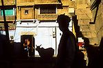 Inside the fort, Jaisalmer, Rajasthan, India, 2011