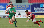 Connacht's Ian Porter in action during todays match<br /> <br /> Rugby - Scarlets V Connacht - Guinness Pro12 - Sunday 15th Febuary 2015 - Parc-y-Scarlets - Llanelli<br /> <br /> © www.sportingwales.com- PLEASE CREDIT IAN COOK