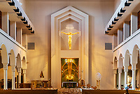 Our Lady of the Universe Cathedral, Camino Real, Orlando, Florida, USA.