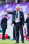 Australia Head Coach Graham Arnold reacts during the AFC Asian Cup UAE 2019 Group B match between Australia (AUS) and Jordan (JOR) at Hazza Bin Zayed Stadium on 06 January 2019 in Al Ain, United Arab Emirates. Photo by Marcio Rodrigo Machado / Power Sport Images