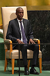 LOS general debate – 27 September<br /> <br /> AM<br /> <br /> His Excellency Jovenel Moïse, President, Republic of Haiti