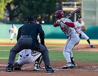 STANFORD, CA - JUNE 7: Brock Jones during a game between UC Irvine and Stanford Baseball at Sunken Diamond on June 7, 2021 in Stanford, California.