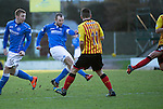 St Johnstone v Partick Thistle....17.01.15  SPFL<br /> Dave Mackay scores his goal<br /> Picture by Graeme Hart.<br /> Copyright Perthshire Picture Agency<br /> Tel: 01738 623350  Mobile: 07990 594431