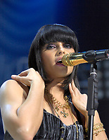 Nelly Furtado performs as part of the Y100 Jingle Ball Concert at the Bank Atlantic Center
