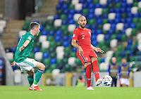 7th September 2020; Windsor Park, Belfast, County Antrim, Northern Ireland; EUFA Nations League, Group B, Northern Ireland versus Norway; Norway's Haitam Aleesami plays the ball forward