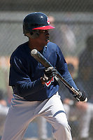 Cleveland Indians minor leaguer Ramon Hernandez during Spring Training at the Chain of Lakes Complex on March 17, 2007 in Winter Haven, Florida.  (Mike Janes/Four Seam Images)