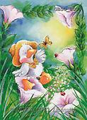 Ron, CUTE ANIMALS, Quacker, paintings, duck, butterfly(GBSG8099,#AC#) Enten, patos, illustrations, pinturas