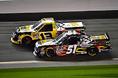 2017 Camping World Truck - NextEra Energy Resources 250<br /> Daytona International Speedway, Daytona Beach, FL USA<br /> Friday 24 February 2017<br /> Cody Coughlin, Myatt Snider<br /> World Copyright: John K Harrelson / LAT Images<br /> ref: Digital Image 17DAY2jh_04941