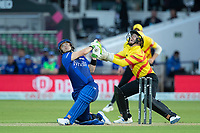 Josh Inglis skies and is caught during London Spirit Men vs Trent Rockets Men, The Hundred Cricket at Lord's Cricket Ground on 29th July 2021