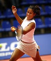 20031209, Rotterdam, LSI Masters, Elise Tamaela verslaat Mens