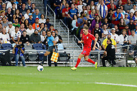 St. Paul, MN - Tuesday June 18, 2019: Tyler Boyd of the United States during a 2019 CONCACAF Gold Cup group D match between the United States and Guyana on June 18, 2019 at Allianz Field in Saint Paul, Minnesota.