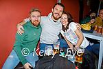 Enjoying the evening the in Turners bar on Saturday, l to r: Eric Boylan, Brendan Duff and Denise Mangan