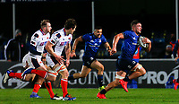 16th November 2020; RDS Arena, Dublin, Leinster, Ireland; Guinness Pro 14 Rugby, Leinster versus Edinburgh; Cian Kelleher of Leinster on his way to scoring a try