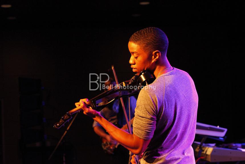Daniel D performed at the 12th Annual Omaha Blues Jazz & Gospel festival on 11/5/11.