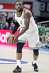 Real Madrid's K.C.Rivers during Euroleague match.January 22,2015. (ALTERPHOTOS/Acero)